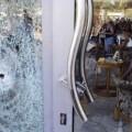 Imagen de los destrozos en el hotel.