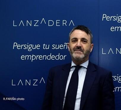 Javier Jiménez, director general de Lanzadera.