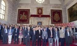 Jurado de los galardones Rey Jaime I 2015 entre los que se encuentran 21 premios Nobel. (Foto-Fundación Rey Jaime I)
