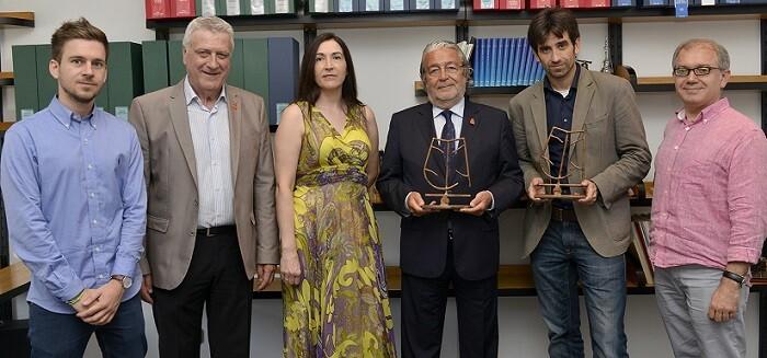 La Mostra Internacional de Mim reconoce la labor de apoyo del la Fundación Bancaja.