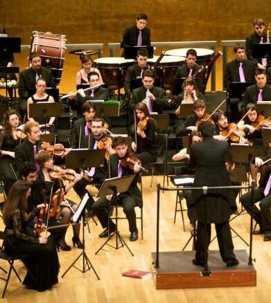 La Orquesta de la Universitat en una imagen de archivo.