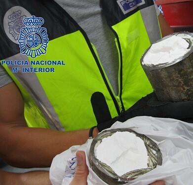 La Policía logró incautar 3.530 kilos.