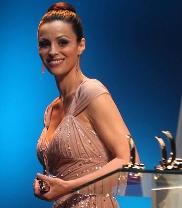 La actriz Ana Álvarez.