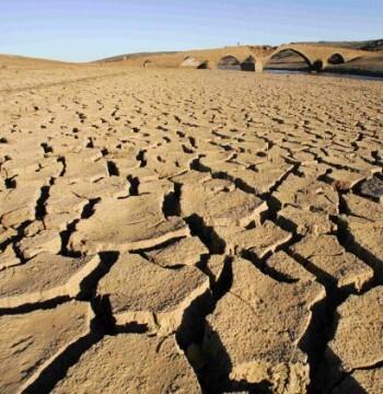Las grandes reservas de agua del mundo  se van agotando.
