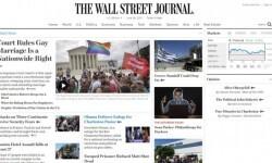 Los medios de Estados Unidos celebraron la aprobación del matrimonio gay en todo el país (1)