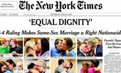 Los medios de Estados Unidos celebraron la aprobación del matrimonio gay en todo el país (11)