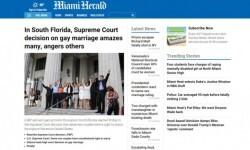 Los medios de Estados Unidos celebraron la aprobación del matrimonio gay en todo el país (5)