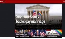 Los medios de Estados Unidos celebraron la aprobación del matrimonio gay en todo el país (6)