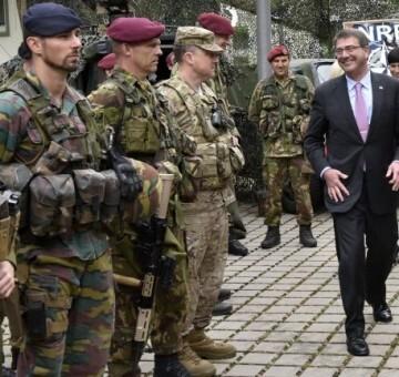 Los seis países han aceptado acoger equipamiento militar pesado.