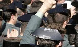 Manifestación de la Guardia Civil.