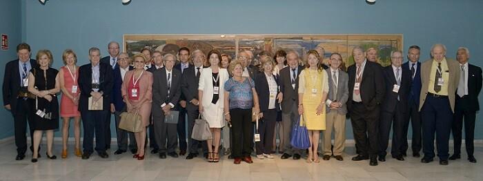 Miembros de los jurados de la 27 edición de los Premios Rey Jaime I.