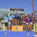 Podium categoría Manada - 3ª Carrera en Manada BIOPARC Valencia