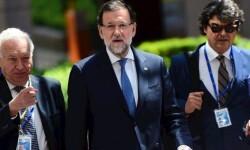 Rajoy en Bruselas.