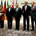 Representantes de las negociaciones del 5+1 y Irán.