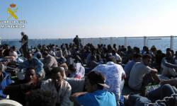 Rescatan a 589 inmigrantes en aguas italianas al sur de la isla de Lampedusa  2015-06-08_Rescate_inmigrantes_Rio_Segura_02 (8)