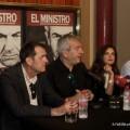 Rueda de prensa de la obra 'El ministro'.