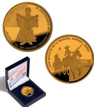 Se trata de una emisión de monedas de colección de gran valor histórico.