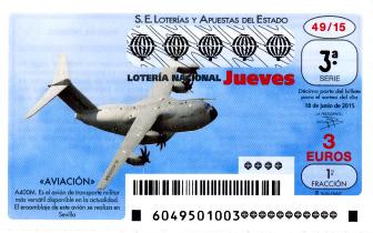 Sorteo del jueves de lotería nacional 18 de junio de 2015