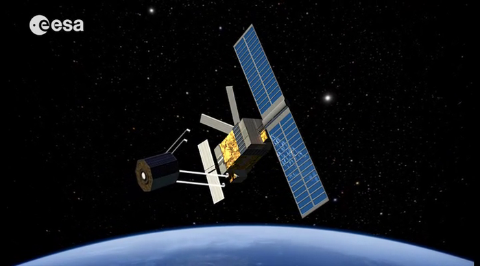 Misión para eliminar basura espacial