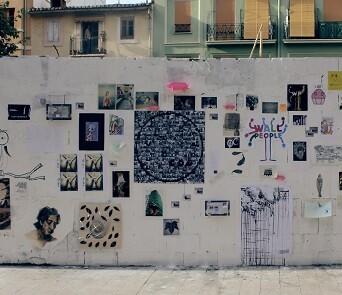 Trabajo de Wallpeople realizado en uno de los muros de la ciudad de Valencia.