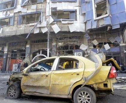 Un coche bomba en una imagen de archivo.