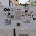 Uno de los Wallpeople realizados en la ciudad de Valencia.