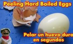 Como pelar huevos duros en segundos