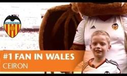 El curioso caso de Ceiron, fan número 1 del Valencia CF en Gales