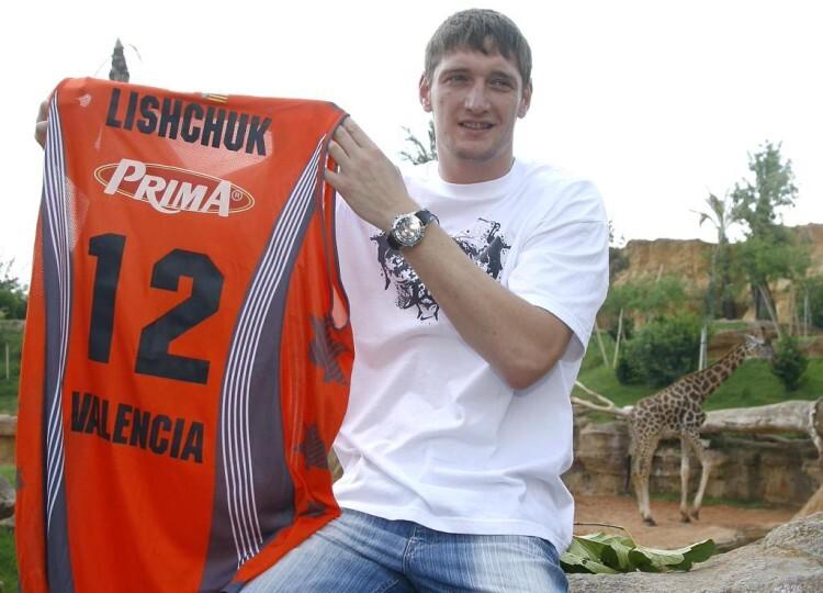 Lishchuk, en su presentación con el Valencia Basket -celebrada en Bioparc Valencia-. Foto de archivo