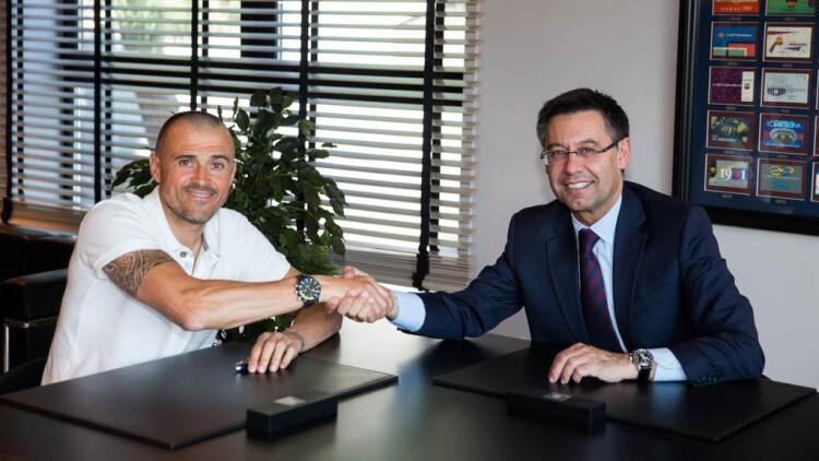 Luis Enrique ha renovado por el FC Barcelona por dos temporadas más. Foto: @fcbarcelona_es