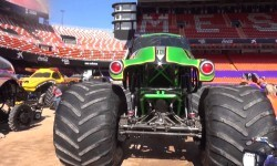 Monster Jam Valencia, preparativos iniciales