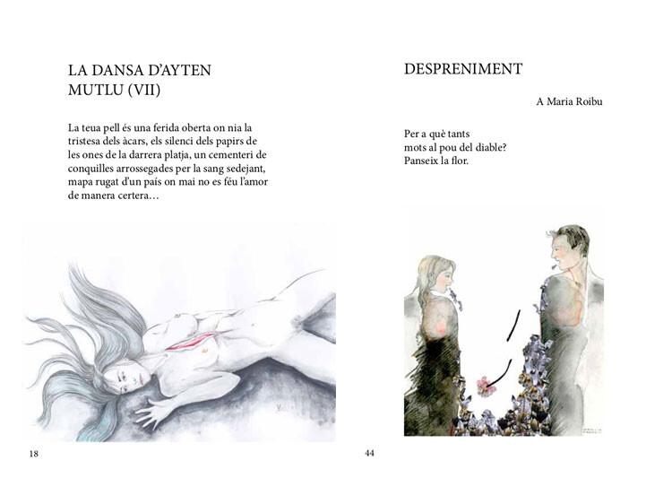 Izquierda: Verónica Deltoro. Derecha: Verónica Fradkin