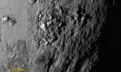 'New Horizons' descubre montañas de agua helada en Plutón