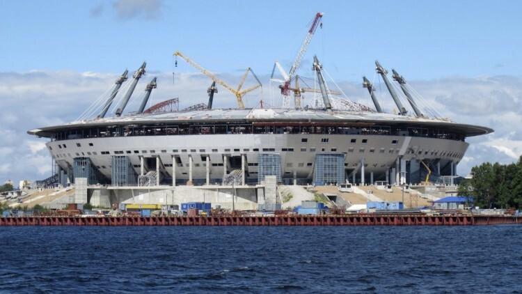 1 de 12 El Zenit Arena se ubica en San Petersburgo