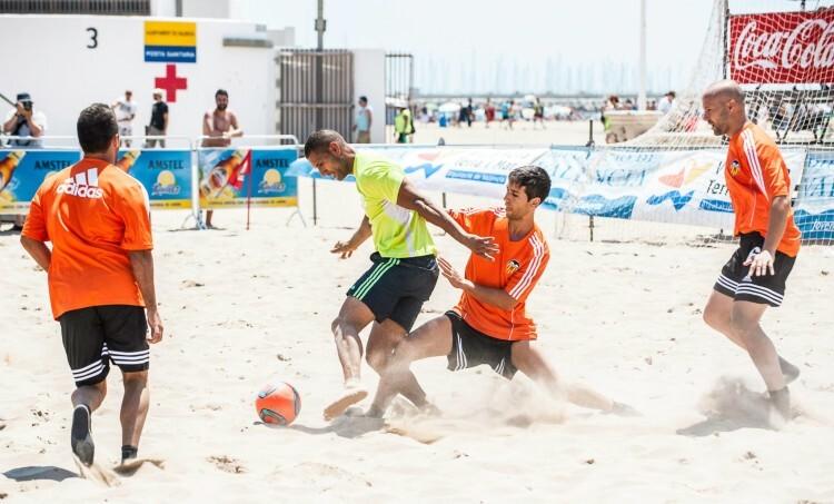 Fútbol Playa en Las Arenas (Valencia)
