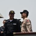 Almirante español y japonés en el puente foto: mde