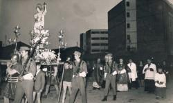 1964. Processó en les festes de Sant Expedito Màrtir. València. A. P. R. S.