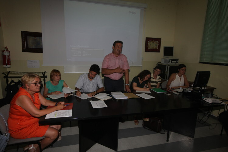 Reunión de trabajo de la Comisión de Urgencia para el Cabanyal. Foto de archivo