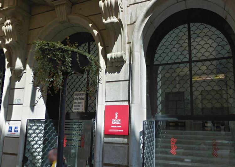 24 Calle Gerona  conselleria sanitat alicante
