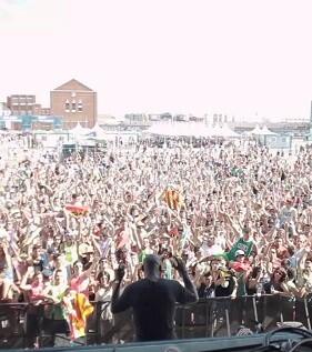 40.000 personas llenaron el recinto para ' class=