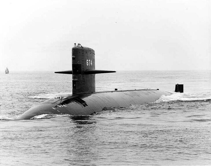 SSN 674 - USS TREPANG