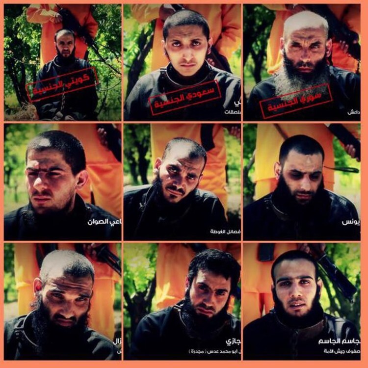 Al Qaeda se venga de ISIS con sangrienta ironía las víctimas ejecutan a sus verdugos (4)