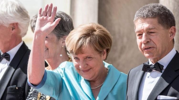 Angela Merkel, se desmayó en un entreacto de la ópera (1)