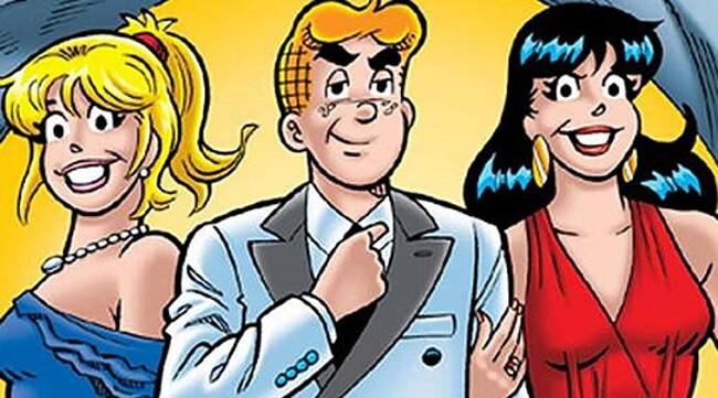 Archie y sus dos fieles conpañeras de aventuras.