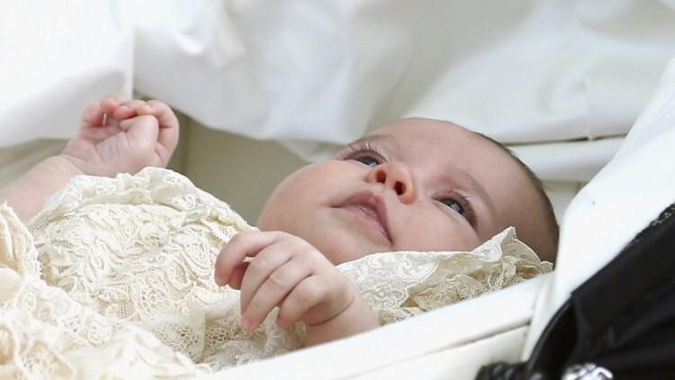 Así fue el bautismo de la princesa Charlotte de Cambridge (2)