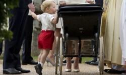 Así fue el bautismo de la princesa Charlotte de Cambridge (4)