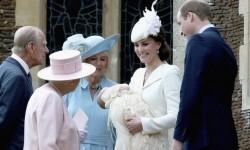 Así fue el bautismo de la princesa Charlotte de Cambridge (5)
