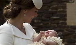 Así fue el bautismo de la princesa Charlotte de Cambridge (6)