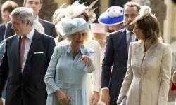 Así fue el bautismo de la princesa Charlotte de Cambridge (7)