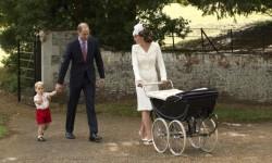 Así fue el bautismo de la princesa Charlotte de Cambridge (8)